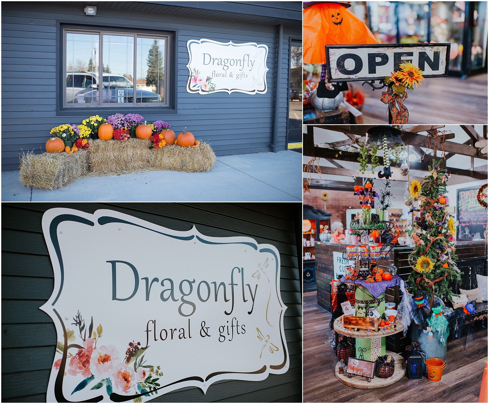 New Flower shop on Main St in Tioga, ND. Offers fresh flowers, and gifts for all seasons