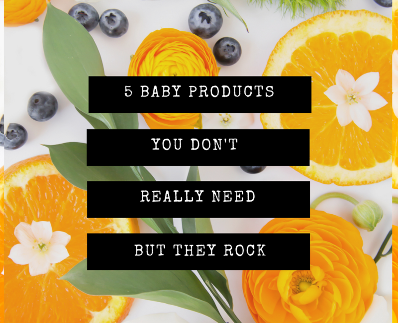 baby products you don't need but they rock | Her Seasons Blog